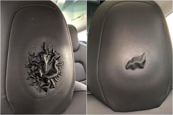 油頭當心!特斯拉 Model 3 頭枕接觸化學物質有起泡風險,定期清潔很重要