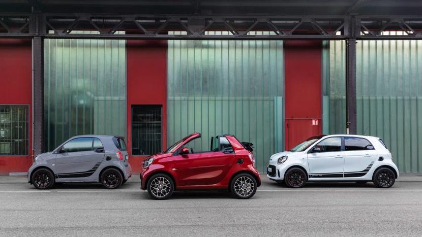 都會小精靈 全新 Smart EQ 三款純電動車資訊搶先看