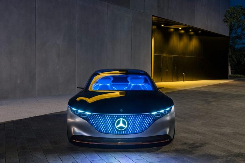 M.Benz Vision EQS:賓士 S 級電動豪華房車 能跑 700 公里 - 5