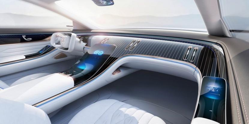 M.Benz Vision EQS:賓士 S 級電動豪華房車 能跑 700 公里 - 8