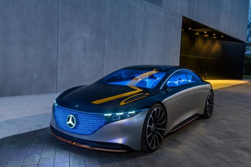M.Benz Vision EQS:賓士 S 級電動豪華房車 能跑 700 公里 - 4