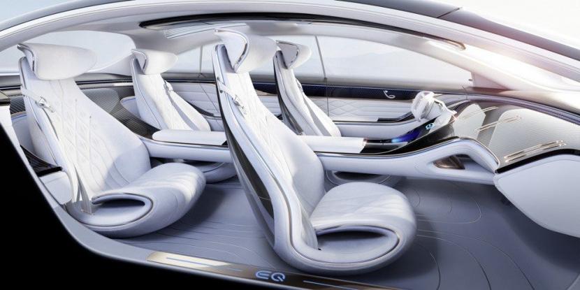 M.Benz Vision EQS:賓士 S 級電動豪華房車 能跑 700 公里 - 7