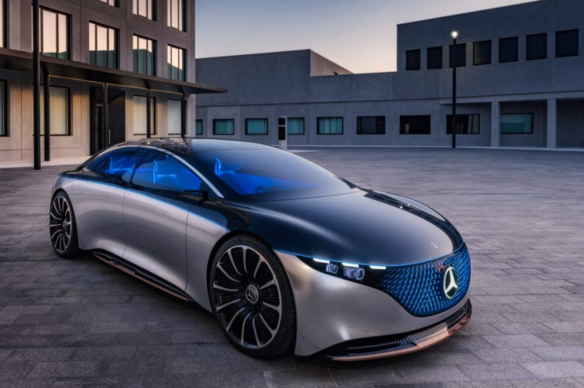 M.Benz Vision EQS:賓士 S 級電動豪華房車 能跑 700 公里 - 1