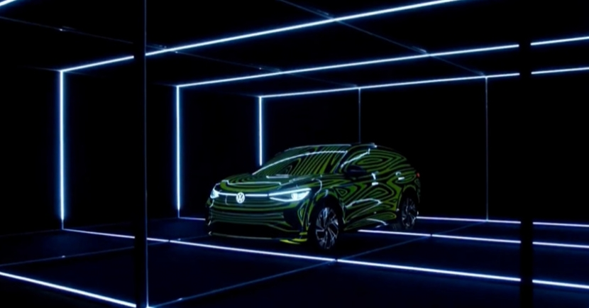 福斯搶先展示 ID.4 跨界休旅概念車,2020 年底前進北美市場