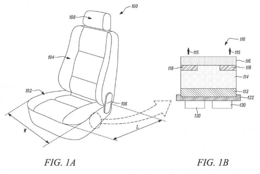 專利顯示特斯拉正在研發液冷座椅技術,散熱加溫更有效率、成本還更低