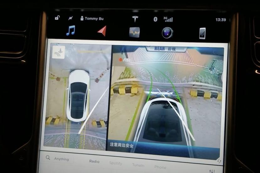 特斯拉將新增「環景顯影」功能:鳥瞰視野使停車再無死角,有買-FSD-才能用!-1