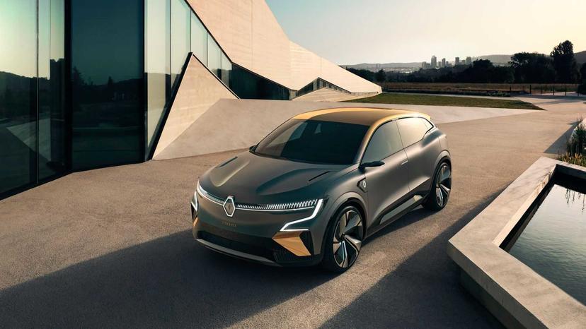 省電直追特斯拉!雷諾-Megane-eVision-電動休旅車撘載超輕薄電池,明年量產上市-1