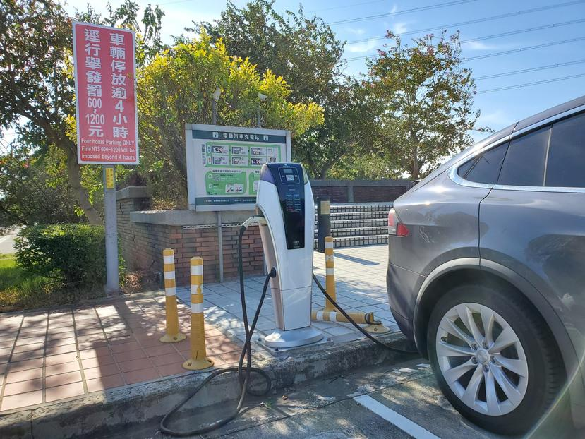 高速公路休息站增設電動車快速充電站!湖口、東山、清水等四服務區被點名,明年一月開標-5