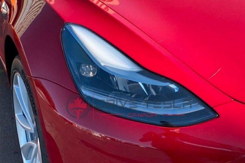 傳說中的-Model-3-新版頭燈已出現在中國車型:更遠、更亮、更集中-4