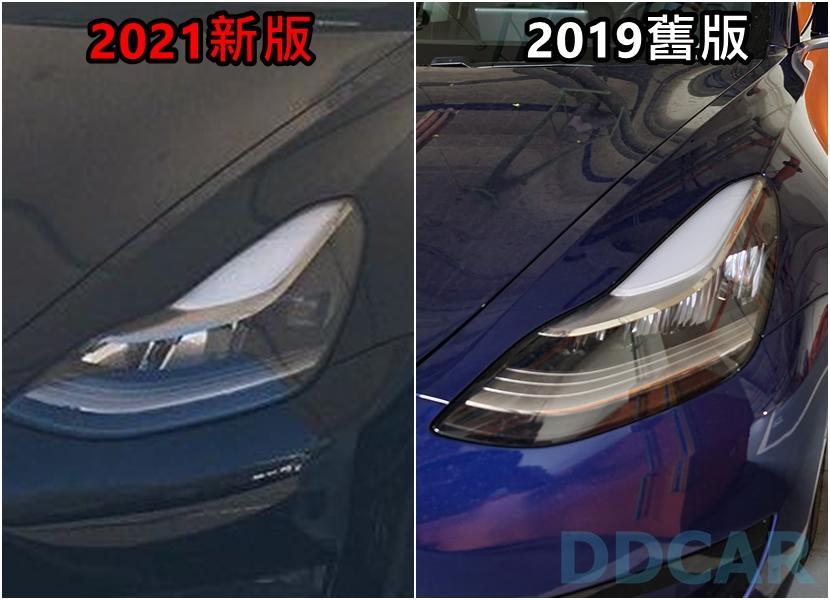 傳說中的-Model-3-新版頭燈已出現在中國車型:更遠、更亮、更集中-5