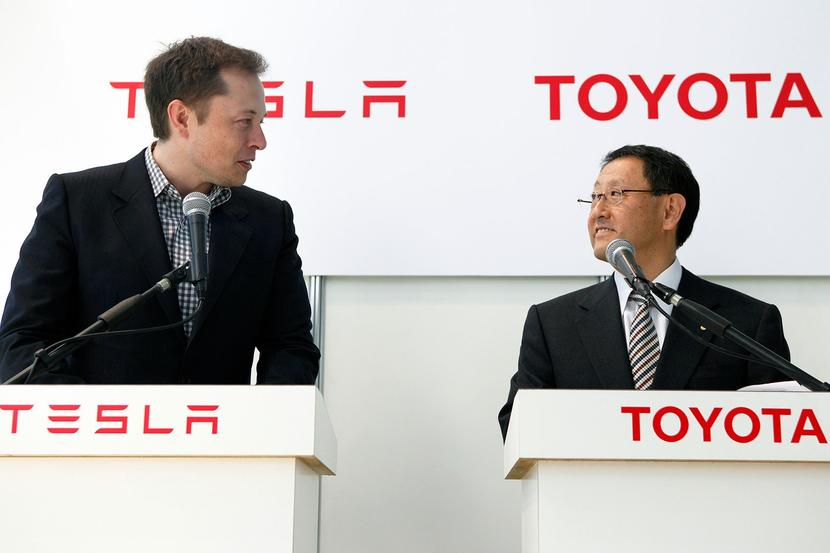 市值輸給特斯拉:Toyota-執行長反擊「豐田汽車才是真材實料」-1