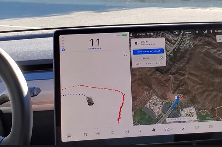 特斯拉-FSD-beta-挑戰-180-度大轉彎,無人工介入的自動駕駛能過關嗎?-1
