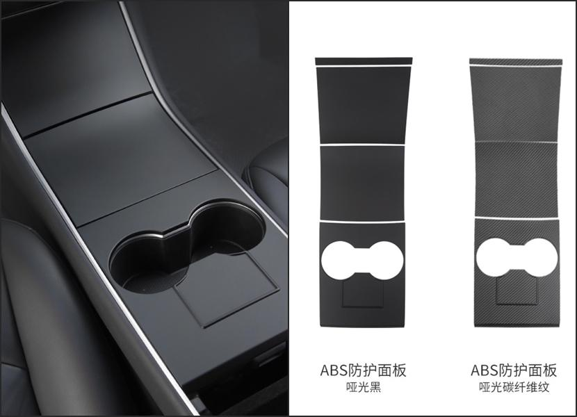 舊款-Model-3「消光黑」中控裝飾配件動手貼:5XX-元換上清爽簡潔新內裝-9
