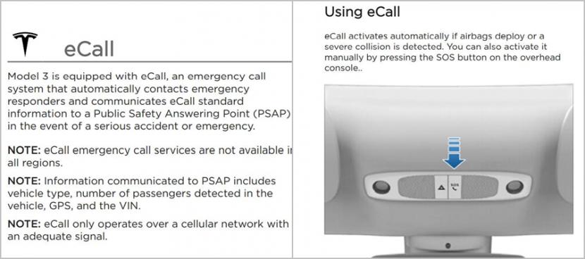 特斯拉車內-SIM-卡將可打電話:一鍵速撥-911-報警救命-2