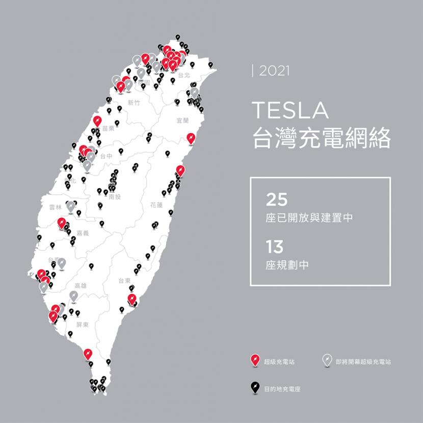 特斯拉更新超充網路地圖,即將上線的超充站地點、預計啟用時間一目了然-5