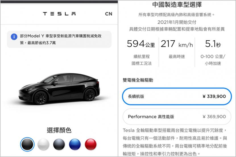 最低僅-147-萬元!Model-Y-中國版價格超犀利,本月即將上市交車-1