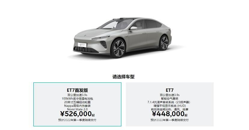 蔚來-ET7-霸氣宣示「Model-Y-就值那個錢」:特斯拉想做電動車界的福特,我們是賓士頂級車!-14
