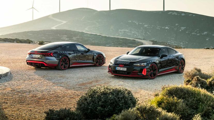 最大-700-匹馬力-+-四輪轉向系統,Audi-e-Tron-GT-電動跑車將於-2-月-9-日正式亮相-1