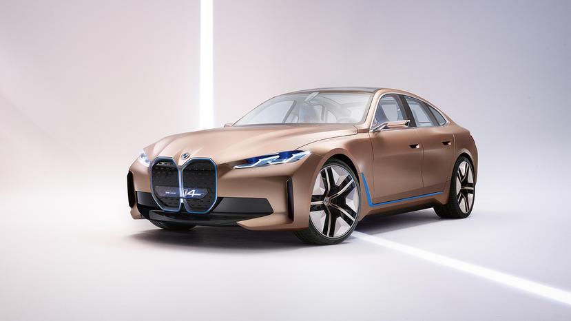 馬力破-500-匹的大鼻孔電動轎跑:BMW-i4-量產車型-3-月-17-日現真身-1