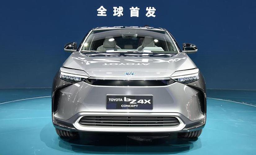 中-日兩地生產、2022-年中開賣,Toyota-bZ4X-概念車全球首發亮相-1