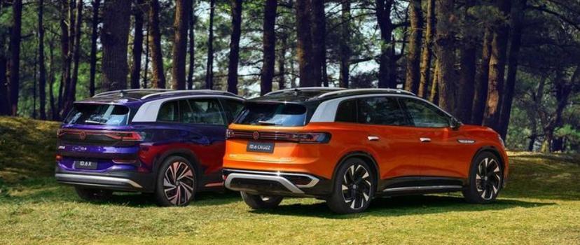 百萬元出頭就可買到的七座電動車,福斯-ID.6-CROZZ-中國市場售價公布-5