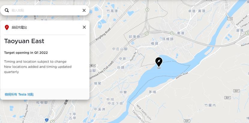 一年內要啟用-16-座新站點!特斯拉台灣全新超充站上線時間、地點總彙整-15