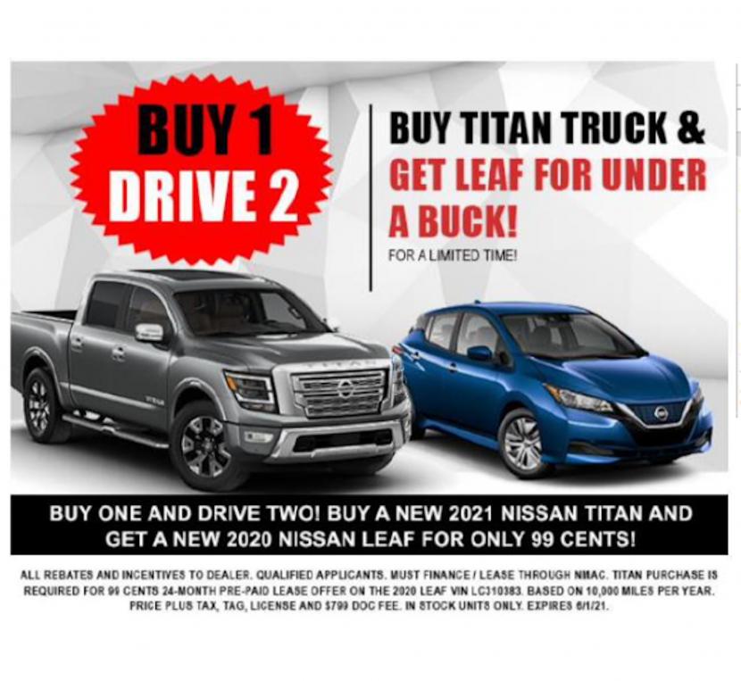 一油一電-半買半送?買燃油皮卡,送你-Nissan-Leaf-電動車免費開二年-1