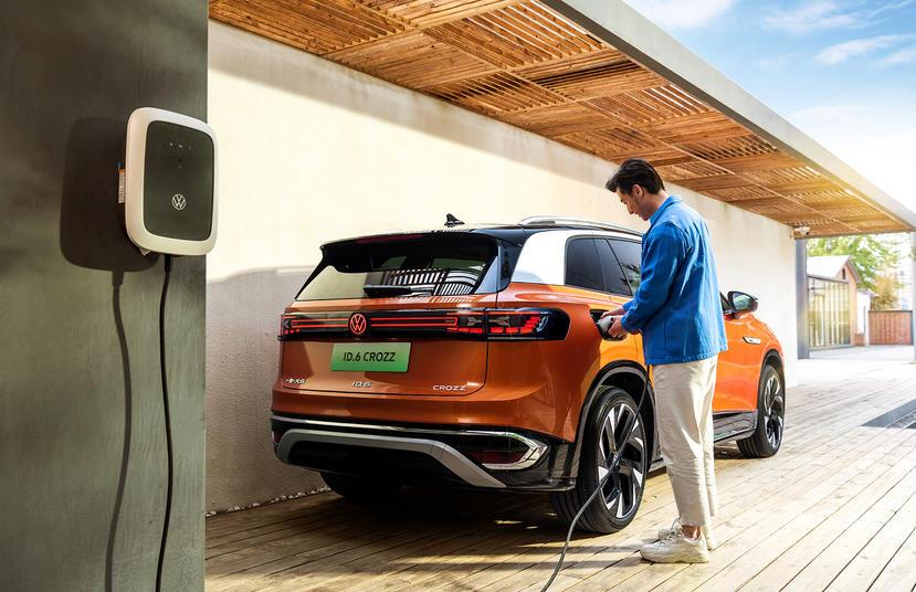 百萬元出頭就可買到的七座電動車,福斯-ID.6-CROZZ-中國市場售價公布-1