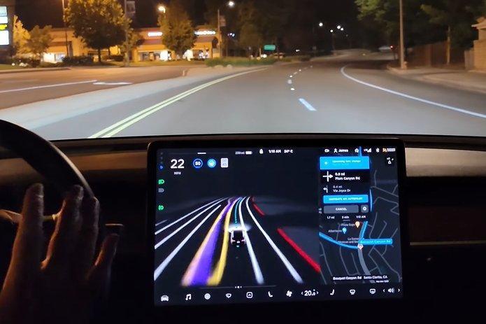 特斯拉-FSD-beta-V9-正式釋出:砍掉重練的自動駕駛機能讓測試車主驚嘆連連!-1