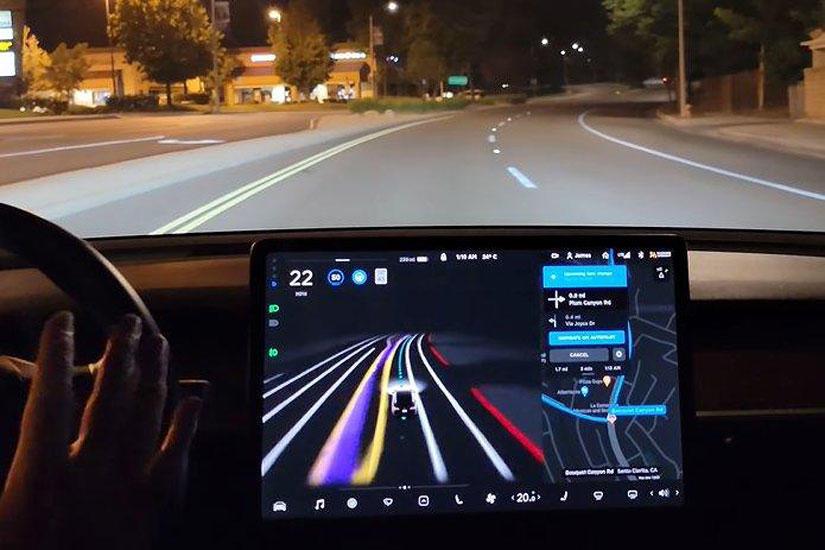 Tesla-Vision-還會更進化!馬斯克:未來可辨識警示燈號,甚至連手勢都能看懂-2