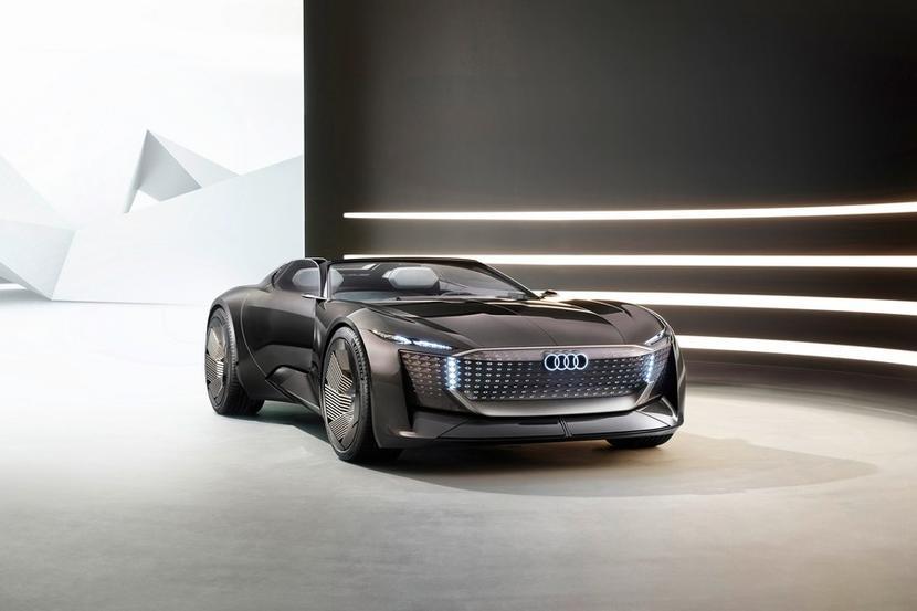 Audi-Skysphere-敞篷電動車:伸縮軸距對應多種模式,還是一輛-Level-4-全自動駕駛車-1