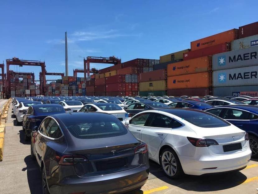 最快九月就可交車,特斯拉確認在美開賣特磷酸鐵鋰電池版-Model-3-SR+-2