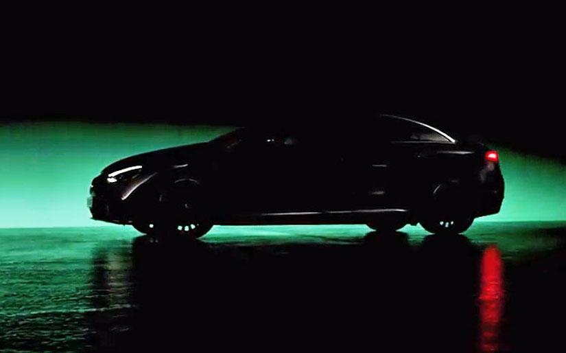 小一號的-EQS,賓士預告-EQE-豪華電動房車將在下周-IAA-車展揭曉-1