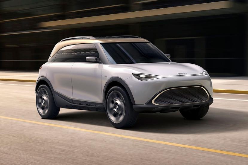 Smart「長大了」!小型電動-SUV-概念車-Smart-Concept-#1-現身-IAA-車展-1